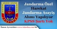 Jandarma Özel Harekat ve Jandarma Emniyet Asayişi Alımı Yapılıyor