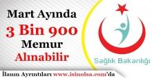 Sağlık Bakanlığı Mart Ayında 3 Bin 900 Memur Personel Alımı Yapabilir