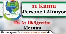 SinopTürkeli Belediye Başkanlığı 11 Daimi Kamu Personeli Alacak