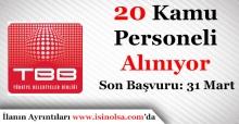 Türkiye Belediyeler Birliği 20 Personel Alımı Başvuruları Bitiyor
