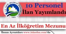 İspir Belediye Başkanlığı 10 Personel Alım İlanı Yayımlandı