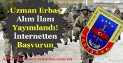 Jandarma Uzman Erbaş Alımı İlanı Yayımlandı! En Az Lise Mezunu