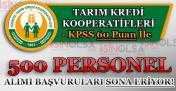 En Az KPSS 60 Puan İle 500 Memur Personel Alımı Başvuruları Sona Eriyor!