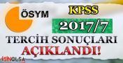 Tarım Bakanlığı KPSS 2017/7 ile 2 Bin 58 Memur Alımı Tercih Sonuçları Açıklandı