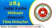Adalet Bakanlığı 284 Zabıt Katibi ve Mübaşir Alımı Yapıyor! Aranacak Şartlar