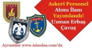 Kara Deniz ve Hava Kuvvetleri Komutanlığı Askeri Personel Alımı İlanı Yayımlandı!
