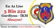 Adalet Bakanlığı 3 Bin 222 Gardiyan İnfaz Koruma Memuru Alıyor! En Az Lise Mezunu