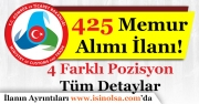 Gümrük ve Ticaret Bakanlığı 425 Memur Alımı Yapacak!