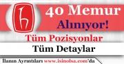 Hacettepe Üniversitesi 40 Memur Alımı Yapıyor!