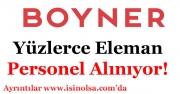 Boyner Mağazaları Yüzlerce Elaman ve Personel Alıyor!