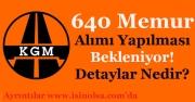Karayolları Genel Müdürlüğü (KGM) 640 Memur Alımı Yapması Bekleniyor! Detaylar Nedir?