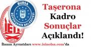 İETT ve Bursa Büyükşehir Belediyesi Taşerona Kadro Başvuru Sonuçları Açıklandı!