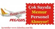 Pegasus Çok Sayıda Memur ve Personel Alımı Yapıyor!