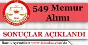 Yüksek Seçim Kurulu YSK 549 Memur Alımı Başvuru Sonuçları Açıklandı!