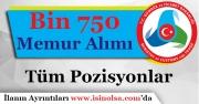 Gümrük ve Ticaret Bakanlığı Bin 750 (1.750) Memur Alımı Başvuruları Başlıyor!
