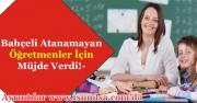 Bahçeli Atanamayan Öğretmenlere Müjdeli Haberi Verdi!