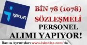 Türkiye İş Kurumu Bin 78 Sözleşmeli Büro Personeli Alımı Yapıyor!