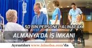 Türkiye'den Almanya'ya 50 Bin Personel Alınacak! Düzenlenecek Kurs Kayıtları Başladı!