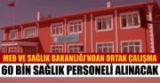 MEB ve Sağlık Bakanlığı'ndan Önemli Adım! Her Okula Bir Sağlık Personeli Alınacak!