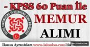 3 SYDV 60 KPSS Puanı İle Memur Personel Alımı Yapıyor