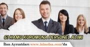 61 Kamu Kurumu, Kamu İşçi Personel Alımı Yapacak! İşte Son Başvuru Tarihleri