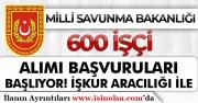 MSB 600 İşçi Alımı Başvuruları Başlıyor! İŞKUR Aracılığı İle Yayımlanacak!
