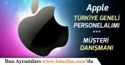Apple Esnek Çalışma Saatli, Evde Müşteri Hizmetleri Danışmanı Alımı Yapacak!