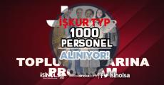 İŞKUR TYP Kapsamında 1000 Personel Alıyor!