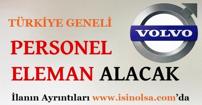 Volvo Eleman Alımı İş İlanları