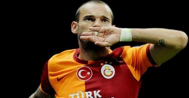 Wesley Sneijder'in Galatasaray'dan Alacağı Ücret Belli Oldu