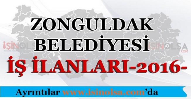 Zonguldak Belediyesi İş İlanları 2016