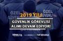 2019 Yılı Güvenlik Görevlisi Alımları Devam...