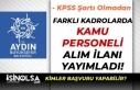 Aydın Büyükşehir Belediyesi KPSS Olmadan Personel...