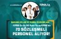 Bakanlıklar ve Kamu Kurumları 70 Sözleşmeli Personel...