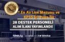 Danıştay 28 Destek Personeli Alım İlanı Yayımladı!...