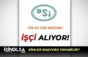 Devlet Su İşleri ( DSİ ) Bursa'da İşçi...