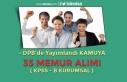 DPB'de Yayımlandı! Kamuya 35 Memur Alınıyor...