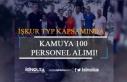 İŞKUR TYP Kapsamında Kamuya 100 Personel Alımı