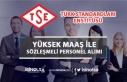 TSE Yüksek Maaş İle 13 Sözleşmeli Personel Alım...