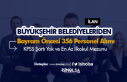 Bayram Öncesi Büyükşehir Belediyeleri 356 Personel...