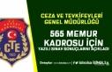 CTE 565 Memur Alımı Kadrolarında Yazılı Sınav...