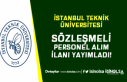 İstanbul Teknik Üniversitesi Yüksek Maaş İle...