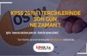 KPSS 2019/1 Tercihlerinde Son Günler!