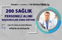 KPSS En Az 55 Puan İle 200 Sağlık Personeli Alımı...
