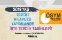 ÖSYM 2019 YKS Tercih Kılavuzunu Yayımladı! Tercih...
