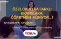 Özel Okullara Farklı Branşlarda 377 Öğretmen...
