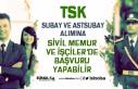 TSK Subay ve Astsubay Alımına Sivil Memur ve İşçilerde...