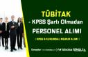 Yeni KPSS B Kurumsal Memur Alım İlanı: TÜBİTAK...