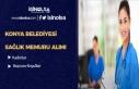 Konya Belediyesi Sözleşmeli Sağlık Personeli ve...