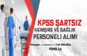 Özel Hastanelere KPSS Şartsız Hemşire ve Sağlık...